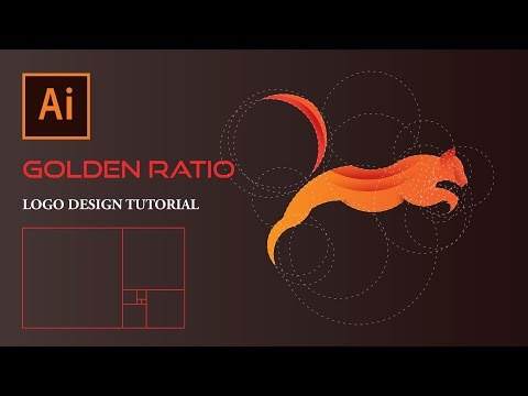 How To Design A Logo Using Golden Ratio | Adobe Illustrator Tutorial