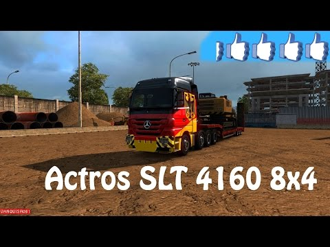 Mercedes Actros 4160 SLT 8x4 Titan v1.0
