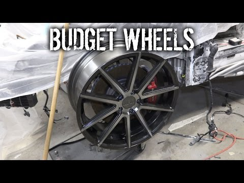 Budget Lotus Evora Pt 19 - New Wheels & Frame Repair