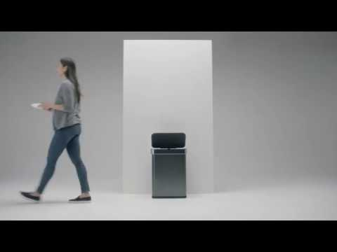 Simplehuman's trash can is voice-activated and will cost $200