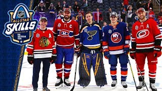 Best moments from the 2020 NHL All Star Skills competition by NHL