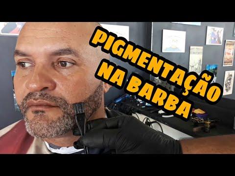 PIGMENTAÇÃO NA BARBA (Parte 2) - BARBEIRO BARBOSA