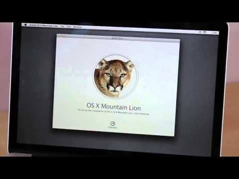 comment demarrer sur cd mac os x