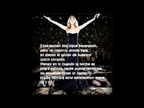 Celine Dion I Drove All Night (en Español)