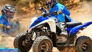 9. (New Yamaha Raptor 90) 2017_2018 Boasting aggressive styling