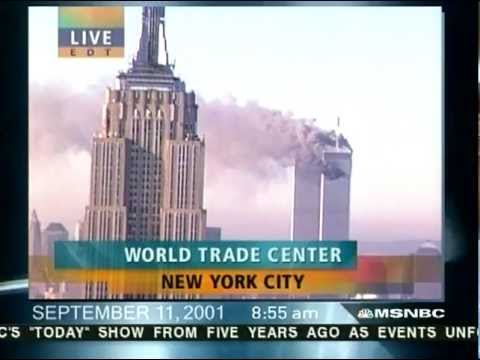 (NBC - On the fifth anniversary of the 9/11 attacks on the United States, MSNBC replayed the Today Show/NBC News coverage from that morning in real-time and without...