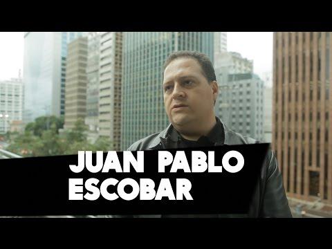 Filho de Pablo Escobar fala sobre seu pai e o combate contra as drogas