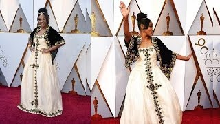 Tiffany Haddish – the Eritrean-American actress/comedian who brought Habesha Kemis to Oscar's stage