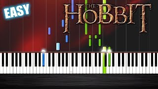 Ed Sheeran - I See Fire - The Hobbit - EASY Piano Tutorial
