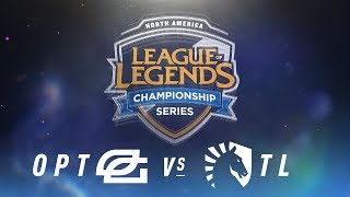 Video OPT vs. TL - Week 1 Day 2 | NA LCS Spring Split | OpTic Gaming vs. Team Liquid (2018) MP3, 3GP, MP4, WEBM, AVI, FLV Juni 2018
