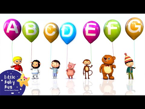 Abc - ABC Song | Alphabet Song | A to Z for Children | 3D Animation Balloons! Lyrics and music © El Bebe Productions with thanks to Aaron Marsden for the music htt...