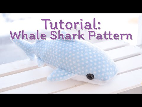 How to Make a Whale Shark Plush