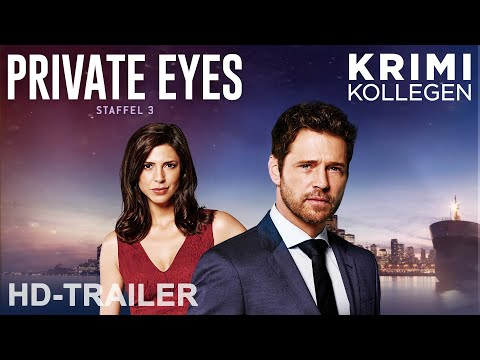 PRIVATE EYES - Staffel 3 - Trailer deutsch [HD] || KrimiKollegen
