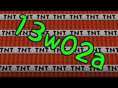 【Minecraft】13w02a紹介☆TNTカート☆