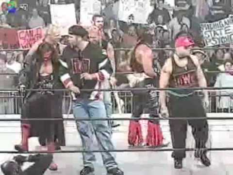 Wolfpac promo/Bret Hart &nWo Hollywood shut it down (6/8/1998)