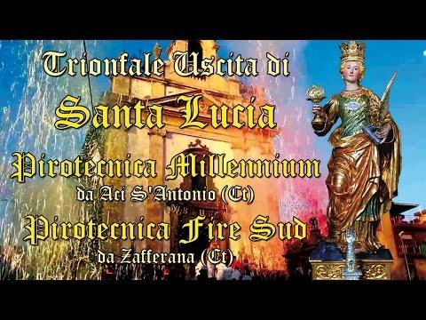 ACICATENA (Ct) - SANTA LUCIA V.M. 2015 - PIROTECNICHE MILLENNIUM e FIRESUD