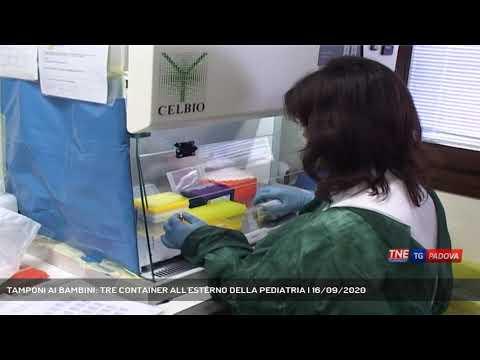 TAMPONI AI BAMBINI: TRE CONTAINER ALL'ESTERNO DELLA PEDIATRIA | 16/09/2020