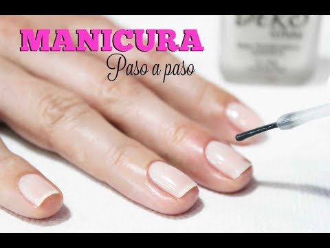 Clase #3 Manicure paso a paso ♥ Deko Uñas