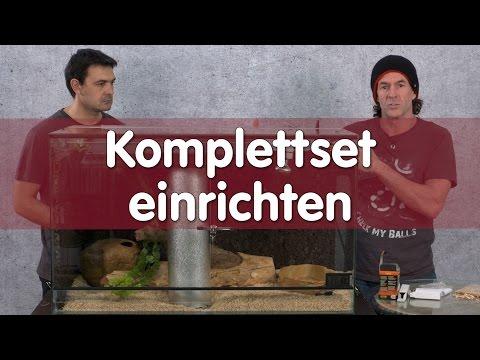 Reptil TV - Technik - Terrarium Komplettset einrichten