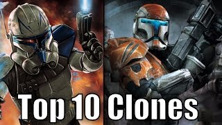 Top 10 Clone Troopers (Results) - Star Wars Top Tens