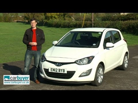 Hyundai i20 hatchback review – Carbuyer
