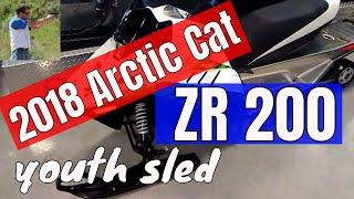 9. 2018 Arctic Cat ZR 200 first look
