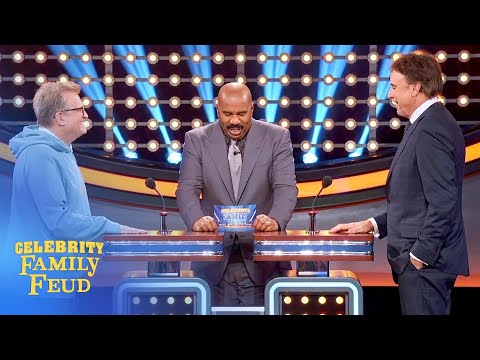Drew Carey and Kevin Nealon face off! | Celebrity Family Feud