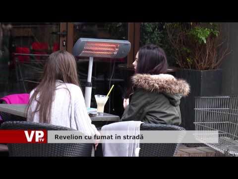 Revelion cu fumat în stradă