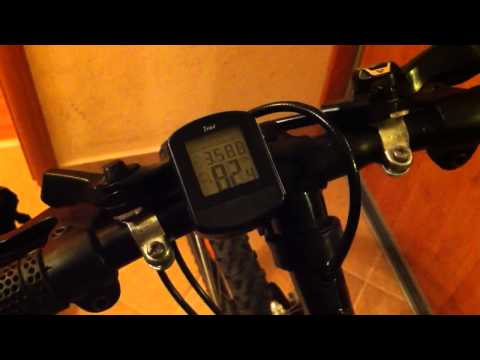 Wireless Bike Computer Crivit (LIDL)
