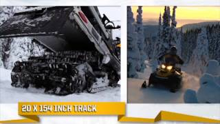 8. Power World 2014 Ski-Doo Skandic & Tundra REV-XU Commercial & Trail Snowmobile Sled