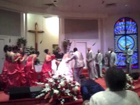Wedding Praise Break of Mr.&Mrs. Ford 2012