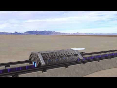Hyperloop completes first test with new partners BIG, AECOM and Arup