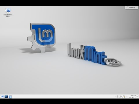 Installation of Linux Mint 17.1 KDE 64bit. From Freedom Came Elegance.