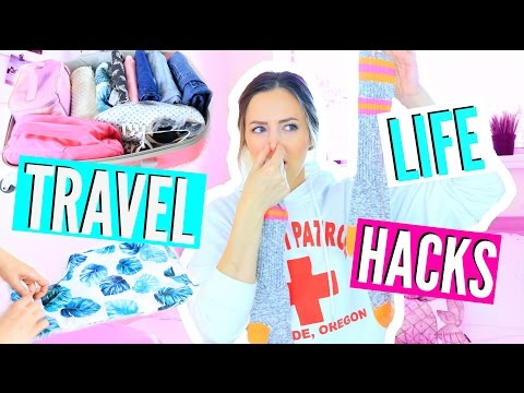 The BEST Travel Life Hacks You NEED To Know!