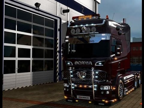 Scania Megastore for 1.24