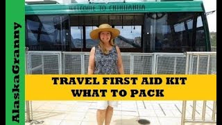 Travel First Aid Kit  What to Pack in your travel first aid kit?  Travel toiletry bag http://amzn.to/2qaFFJo  Include first aid supplies most commonly used.  Prepare for minor injuries and accidents.  Making your own travel first aid kit allows you to stock it with first aid supplies and the medicines you want and need, personalize your travel first aid kit.  Be ready to take care of yourself and your family.  Call 911 for serious injuries, and learn first aid.List of supplies to include in a travel first aid kit band aids  bandagesfirst aid tapesgauze padsgauze rollselastic bandagesfinger splintswrist bracehot packscold packseye dropseye patchdental repair kit like Dentekflossalcohol prep padsfirst aid creampetroleum jellyantibacterial ointmentshydro cortisone creamcotton ballscotton roundscotton swabswet wipesthermometerpaid and fever medicinescough medicinescough dropsnasal spraysaloe vera lotionschapstickpill organizerspill splitterspill crushersmuscle rub pepto bismolanti diarrhea allergy medications ★☆★ SUBSCRIBE TO ME ON YOUTUBE: ★☆★https://www.youtube.com/c/alaskagranny?sub_confirmation=1 ★☆★ FOLLOW ME BELOW: ★☆★Blog: http://www.alaskagranny.com/everyday-preps/★☆★ RECOMMENDED RESOURCES: ★☆★Travel toiletry bag http://amzn.to/2qaFFJoFirst Aid Kit  http://amzn.to/2eHuENC