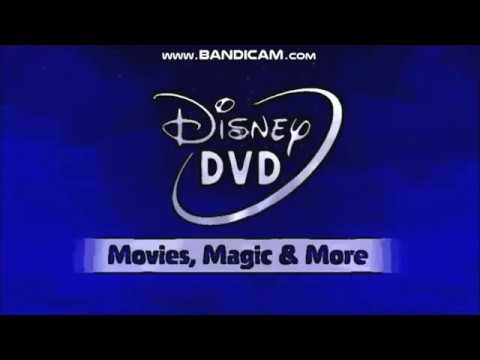 Mess Up Around With Disney DVD Logo (2007-present; 2007-2014)