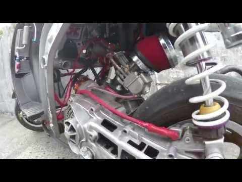Clutch DERSTROYED on Zip SP 95cc R/t