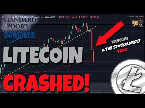 Litecoin Crashed! Did The Stock Market Have Anything To Do With It?