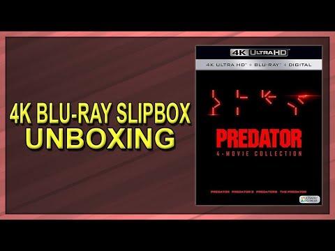 Predator: 4-Movie Collection 4K+2D Blu-ray Slipbox Unboxing