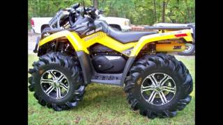 11. 2012 models of can am renegade 800r/outlander 800