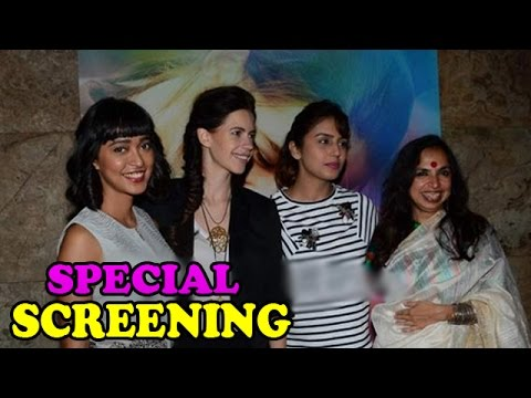 Kalki Koechlin With Other Bollywood Celebs At 'Margarita With A Straw' Special Screening