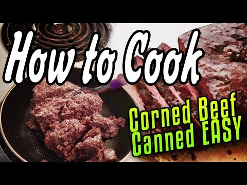 How To Cook Corned Beef Canned EASY