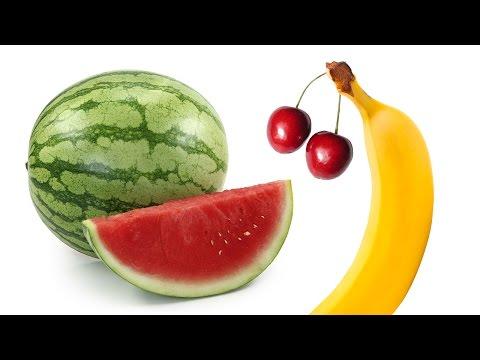 Nazivi voća - Učenje za decu (na srpskom)