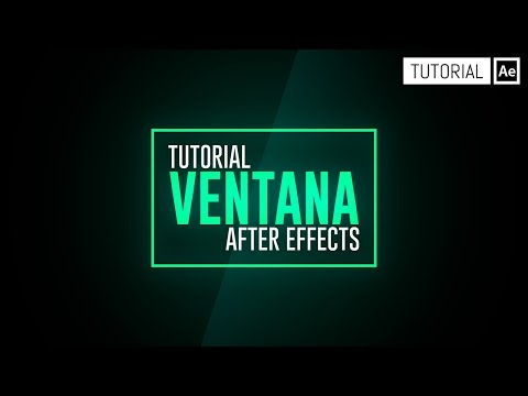 Barrido Ventana - Tutorial After Effects [Español]
