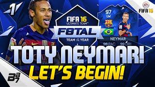 F8TAL TOTY NEYMAR!! LETS BEGIN!! | FIFA 16 #1, neymar, neymar Barcelona,  Barcelona, chung ket cup c1, Barcelona juventus