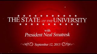 2013 State of the University Address