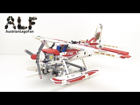 Lego Technic 42040 Fire Plane / Löschflugzeug – Lego Speed Build Review