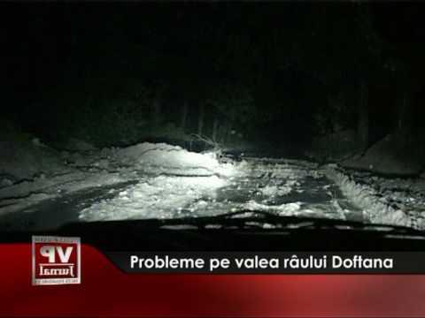 Probleme pe valea râului Doftana
