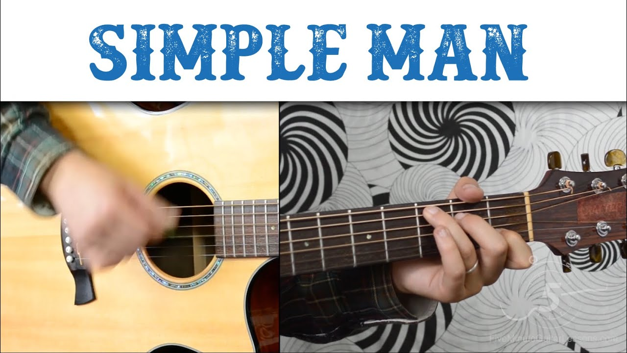 "Learn the riff from ""Simple Man"" by Lynyrd Skynyrd – Quick, Easy Electric Guitar Tutorial"